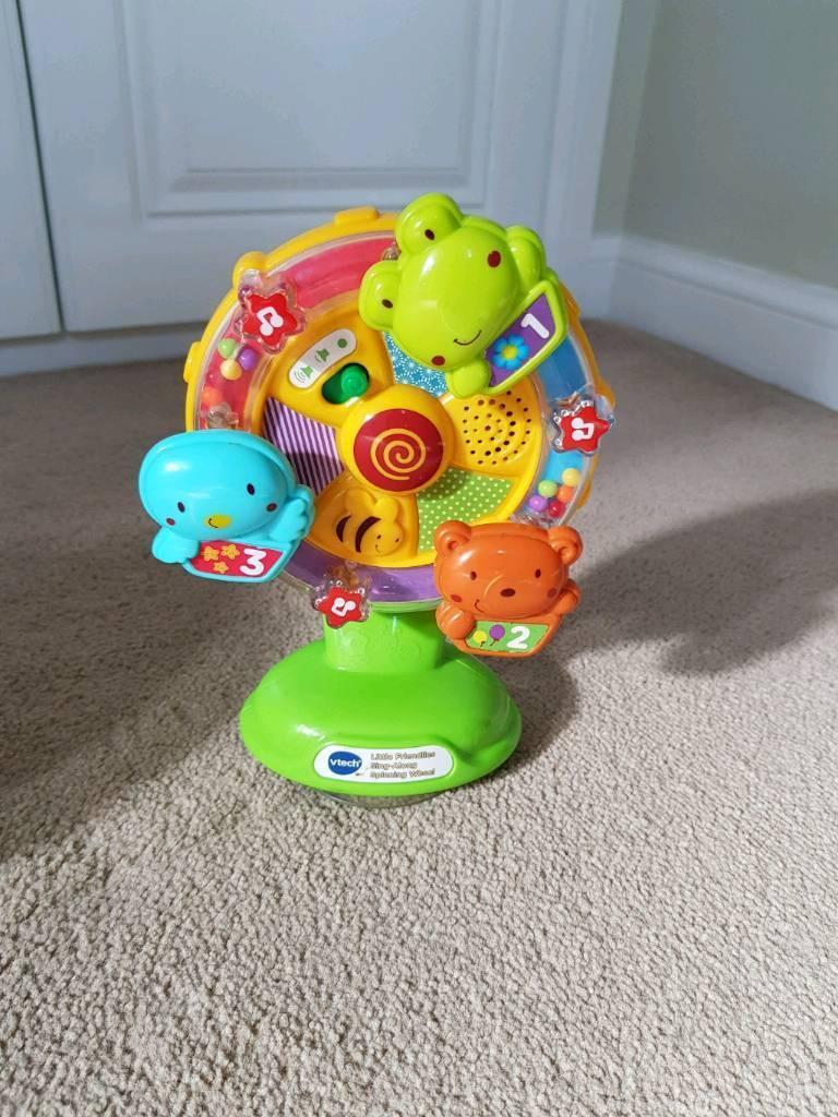 Vtech baby - sing along spinning wheel