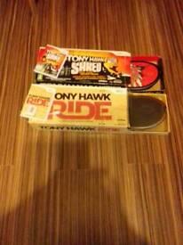 Wii 2x tony hawk skateboards £30ono
