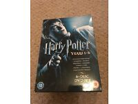 Harry Potter DVD Box Set - years 1-6
