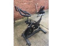 York Fitness SB300 Indoor Training Bike - good working order includes new gel seat.