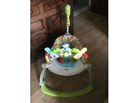 Fisher price rainforest friends jumperoo space saver