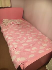 Pink Ikea Toddler Bed