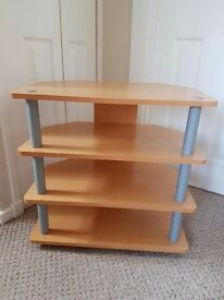 T.V Stand & Matching Telephone Table