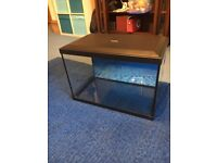 Tropical fish tank 22 inch by 13. 15 inches depth. Holds 50 litres
