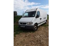 2001 Vauxhall Movano/ Renault Master 2.2 TDi breaking for spares