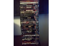 Bundle of 34 Horror Film Movie DVDs