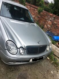 MERCEDES E CLASS 3.0 V6 CDI DIESEL 2005 BREAKING FOR PARTS SSPARES AND REPAIRS