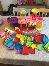 Vtech toot toot garage and more
