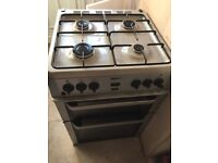 REDUCED!!! NOW ONLY £95!! QUICK SALE NEEDED!! Silver double gas cooker - great condition. Only £130!