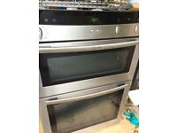 NEFF Electric Double Oven - Stainless Steel U1422