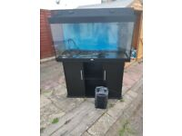 juwel rio 350 litre fish tank and stand excellent condition