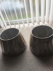 Two new lamps shades