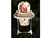 High chair,fully adjustable
