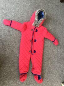 Baby's snow suit
