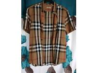 Burberry shirt size m