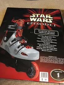 STARWARS in-line roller skates NEW