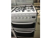 50CM WHITE CREDA GAS COOKER