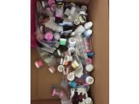 Kit of glitters for Nail Technicians