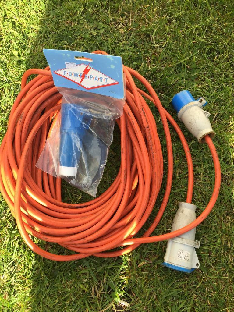 electric hook up cable europe