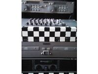 full disco setup equipment for sale will sell seperetly