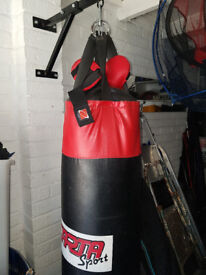 Punch Bag With Fixing Bracket
