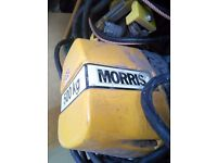 Morris 500kg electric crane - lift - pully - winch with runners remote