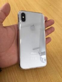 Iphone x 64gb silver px accepted with drone