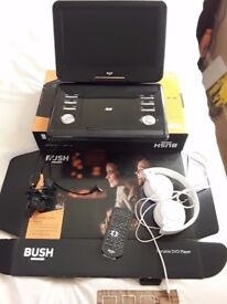 Bush portable Dvd player 12 inch screen