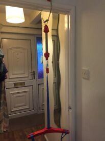 Door frame bouncer