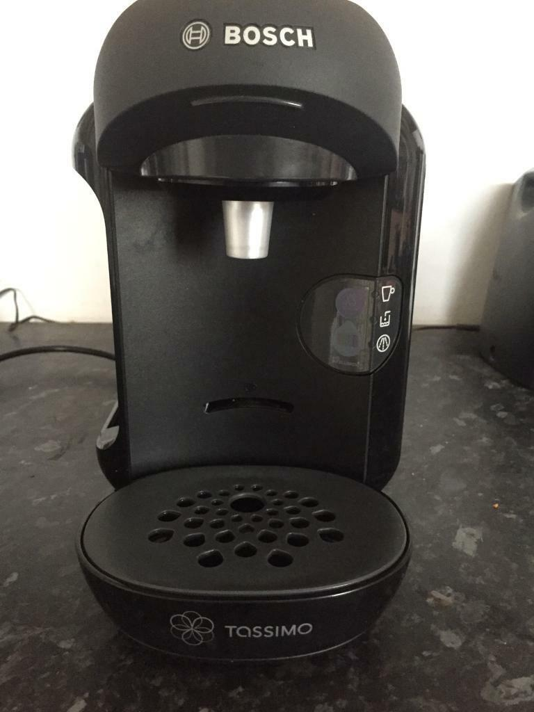 Tassimo Bosch Coffee Machine with a pods