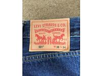 New without tags Levi 501 men's jeans