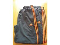 2 pairs Boys Adidas bottoms size 28