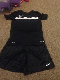 Nike short and tshirt set