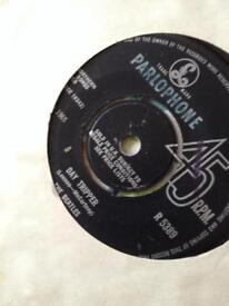 Beatles singles X 4