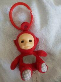 Baby Teletubbies Po Pram Toy