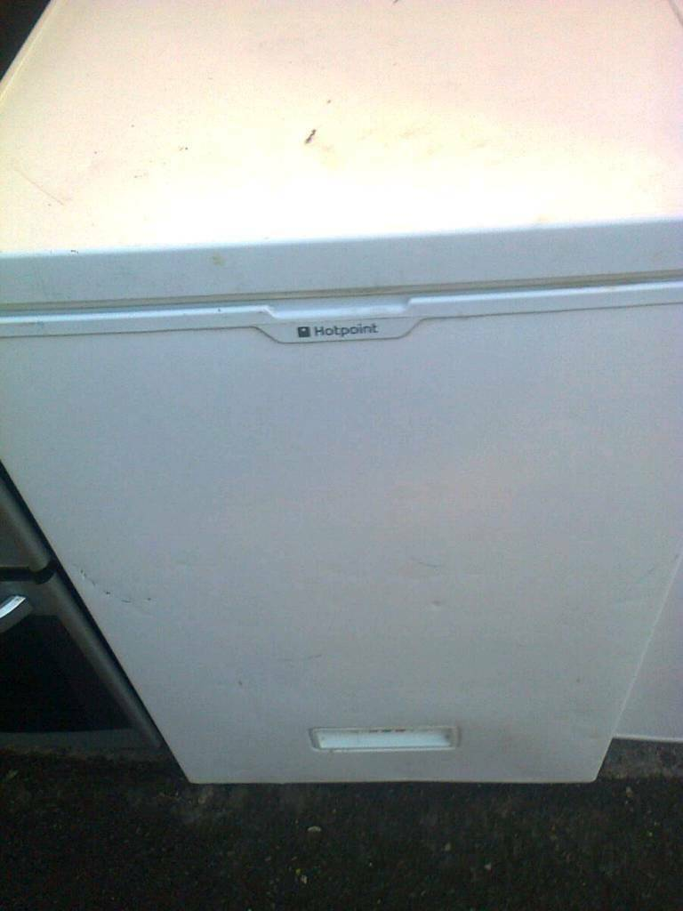 Chest freezer, small