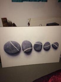 "Ikea large pebbles "" canvas"