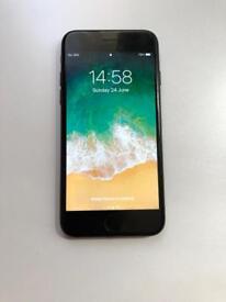 iPhone 7 matte black 128gb unlocked