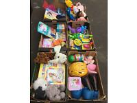 Joblot of kid's toys / games / bags