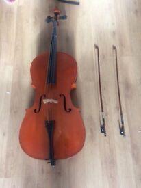 3/4 stentor cello for sale asap