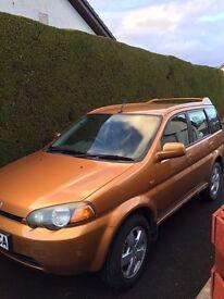 HRV Honda 4WD 2001 1.6 5dr + 12 months MOT, 2 former keepers. Great Car!Just service oil & filter