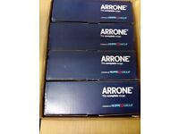 A BOX OF 8 ARRONE AR450 DOOR CLOSERS ALL BRAND NEW IN BOXES