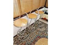 Breakfast bar stools x3