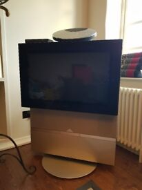 Bang & Olufsen 30 inch CRT TV with stand and freeview box