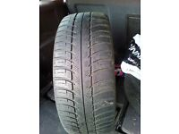Two Used car tyres size 195/50/15