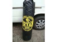BRYAN BOXING LEGEND 1875 48INCH TALL PUNCH BAG ONLY £20 FOR QUICK SALE