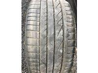 Part Worn Run Flat Tyre