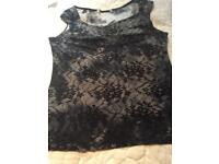 Lacy effect top size 10/12