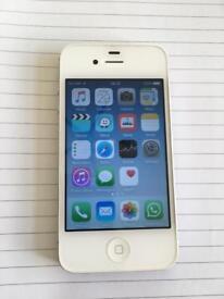 White iPhone 4s unlocked