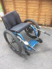 Mountain trike off road wheelchair